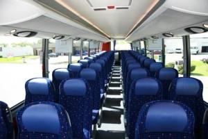 40 passenger charter bus rental