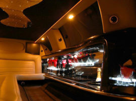 interior stretch limo
