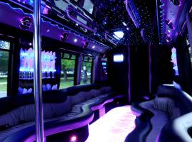 party bus rental 18 people