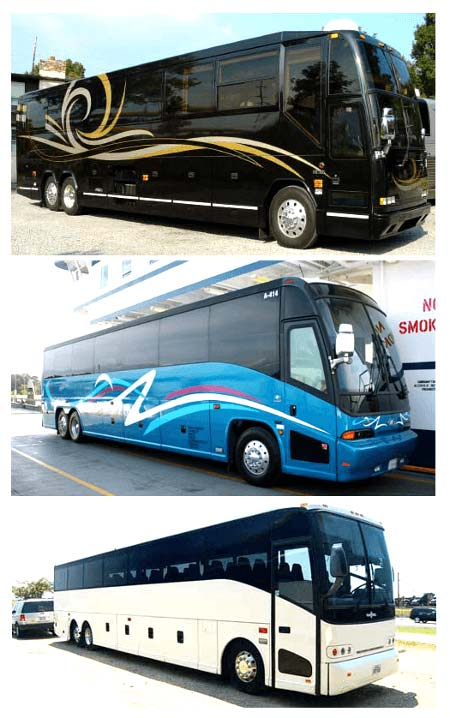 Best Charter Bus Holiday FL