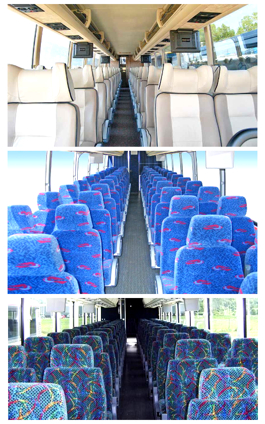Charter Bus Interiors