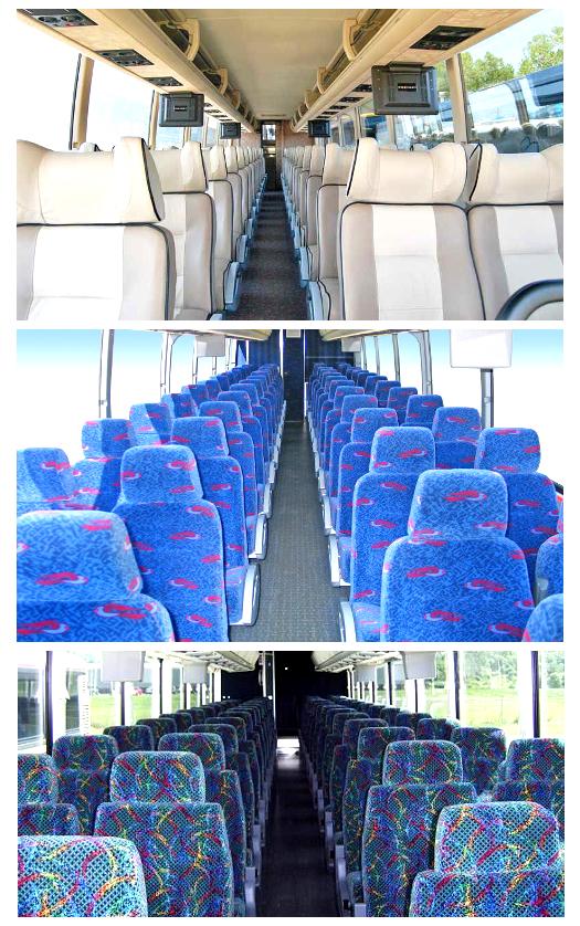 Charter Bus Interiors