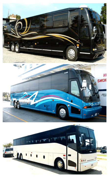 Charter Bus St. Petersburg FL