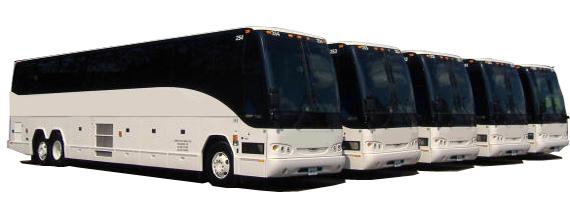 charter bus fleet